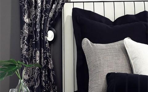 Honor bedhead & custom cushions