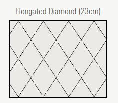 Elongated Diamond (23cm)