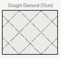 Straight Diamond (15cm)