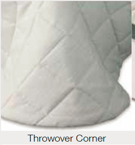 Throwover corner