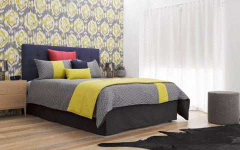 Emerson bedhead & doona cover