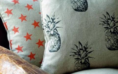 Custom made cushions (tailored edges)