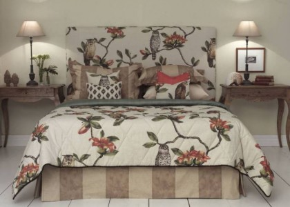Honor custom made upholstered bedhead