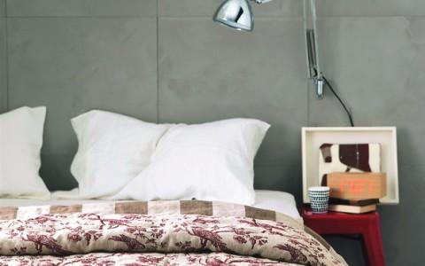 Wall panel bedhead