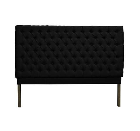 Linen Bedhead - Black