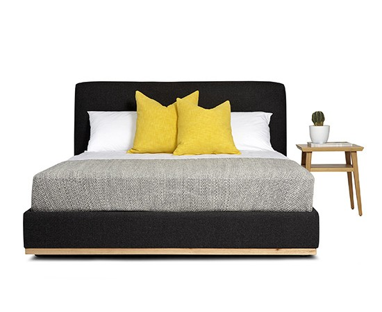 bedhead, bed, upholstered bed